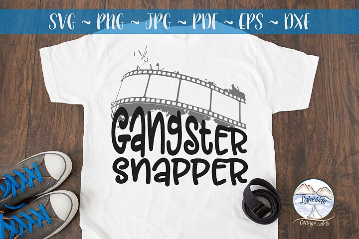 Gangster Snapper SVG for Photographers