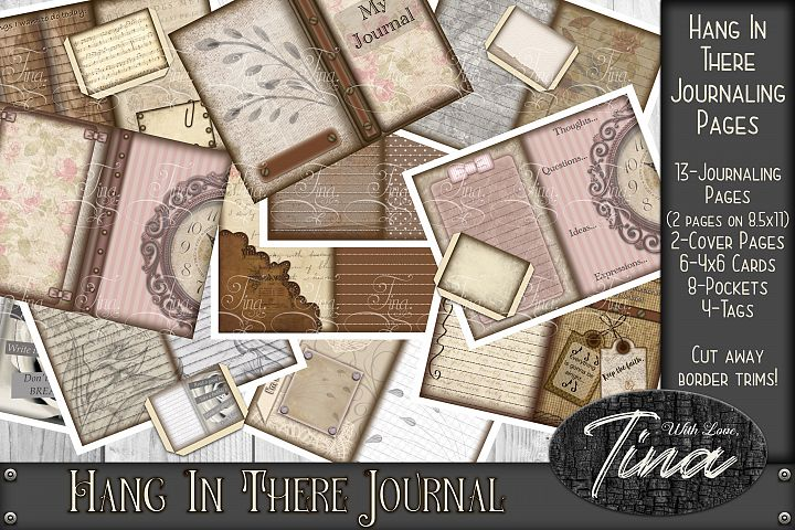 Bored? Hang In There Junk Journal Something to Do Writing