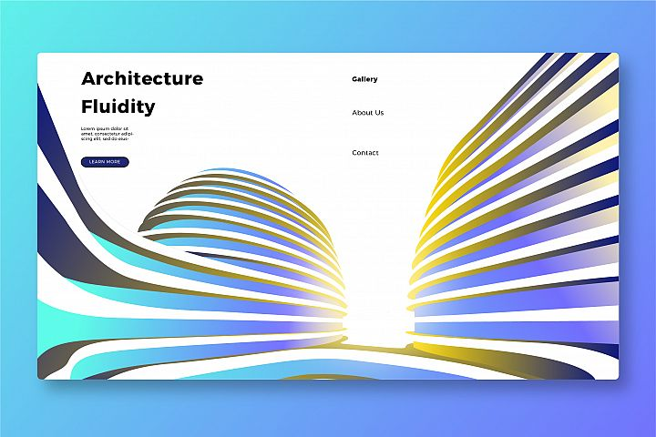 Architecture - Banner & Landing Page