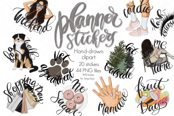 Planner Stickers Collection