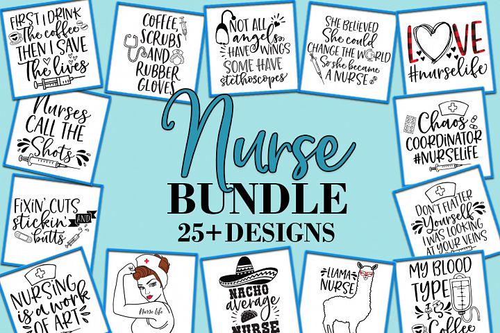 Nurse bundle SVG DXF EPS PNG