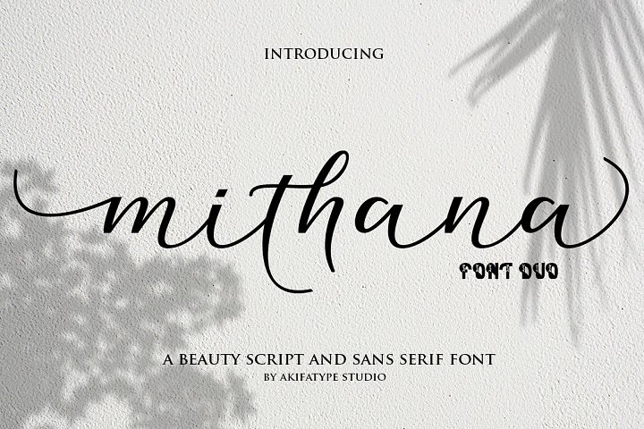 Mithana Font Duo