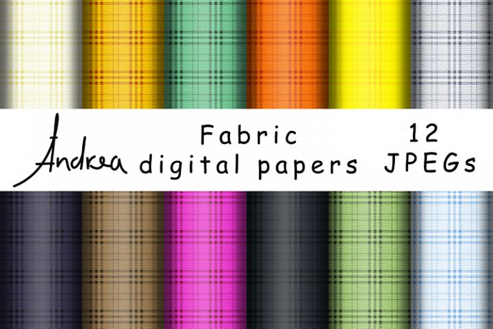 Fabric digital papers