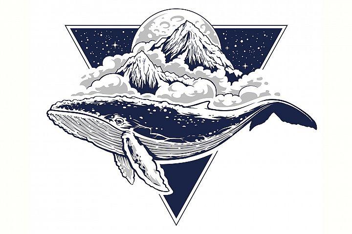 Whale Vector Art