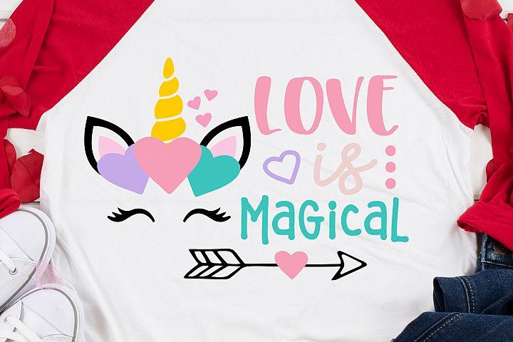 Love is Magical SVG, DXF, PNG, EPS