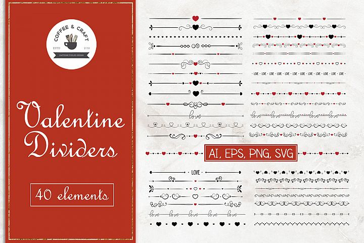 Valentine Dividers