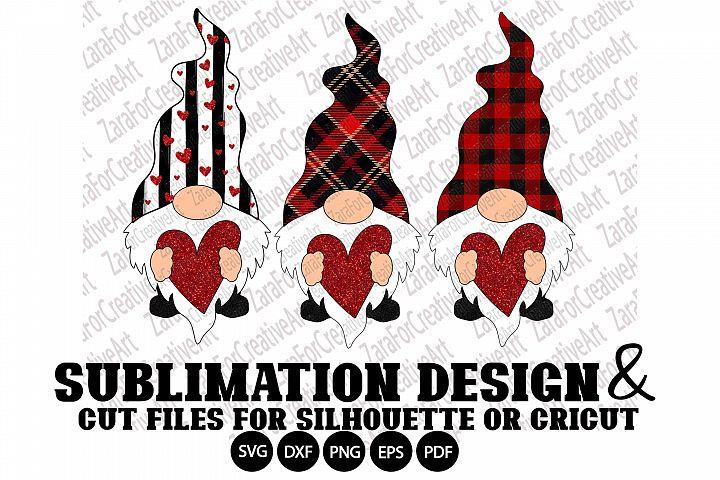 Gnomes Bundle - 20 SVG, 25 Sublimation design