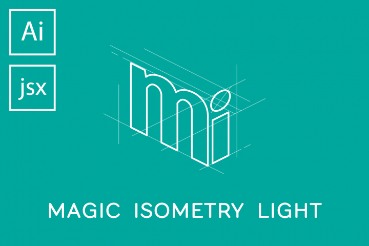 Magic Isometry Light Illustrator script