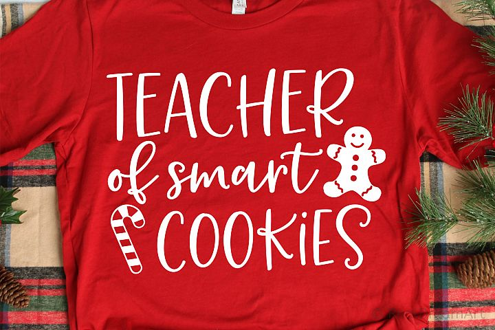 Teacher of Smart Cookies SVG, DXF, PNG, EPS
