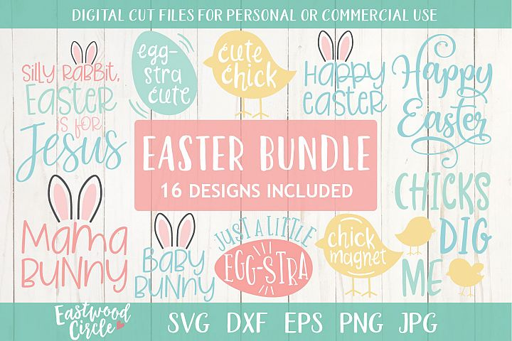 Easter SVG Bundle - Cut Files for Crafters