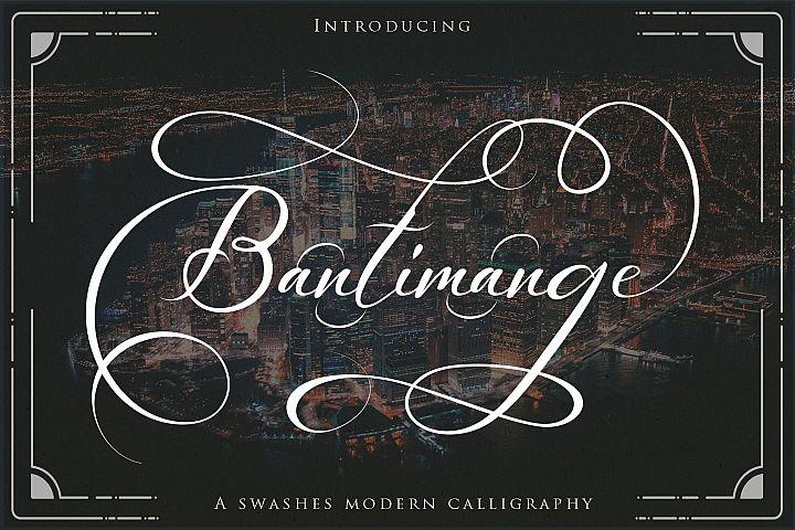 Bantimange script