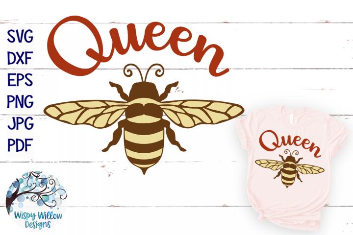 Queen Bee SVG | Bee SVG Cut File