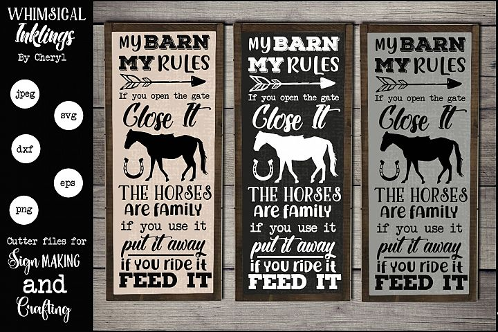 The Horses Are Family SVG