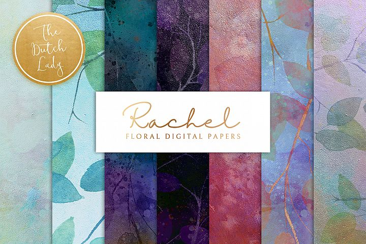 Floral Backgrounds & Paper Designs - Rachel