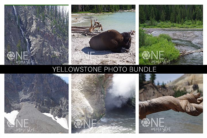 Yellowstone National Park Photo Bundle - Western USA Photo