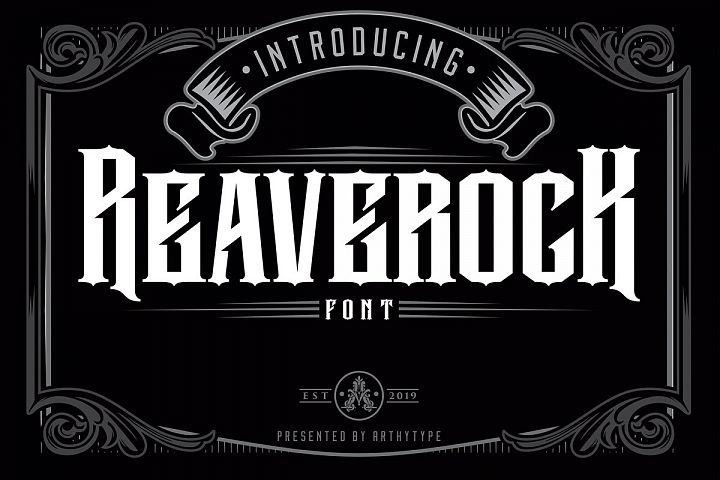 Reaverock Display Font