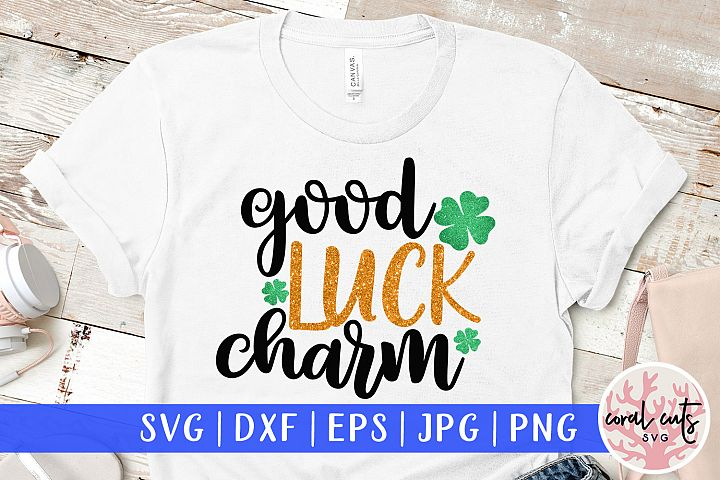 Good luck charm - St. Patricks Day SVG EPS DXF PNG