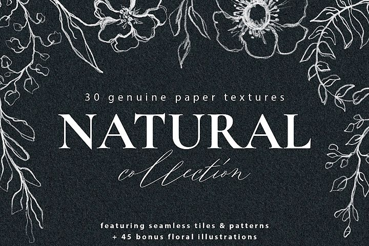 Watercolor Paper Texture Collection