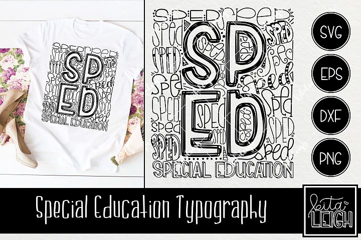 Special Education Typography