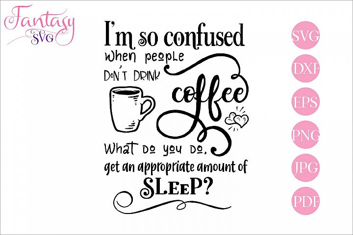 Coffee lover - svg cut file