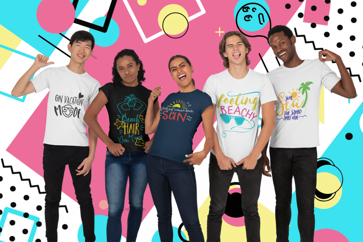 The Summer & Beach Quotes SVG Bundle   Summer T-shirt Bundle