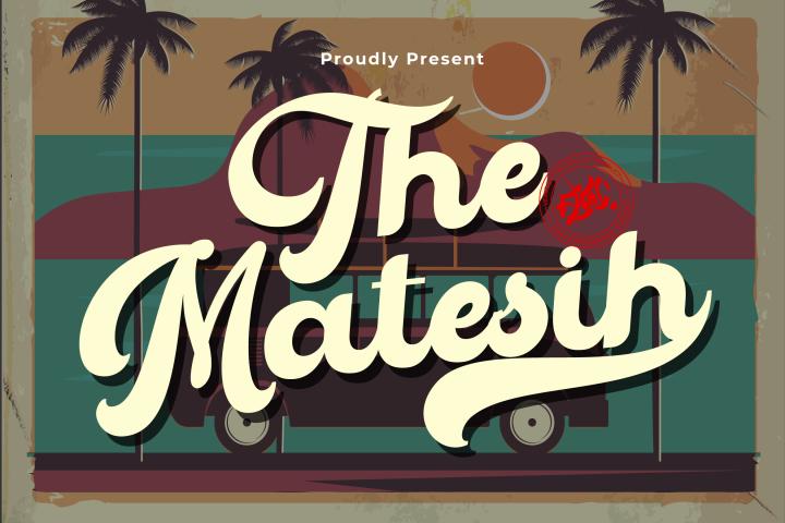 The Matesih bold script