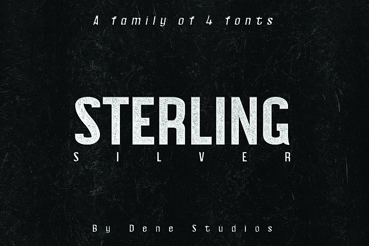 STERLING, A Powerful Sans Serif