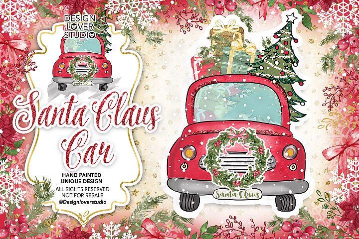 Santa Claus Car design