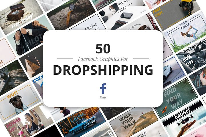 50 Facebook Dropshipping Graphics