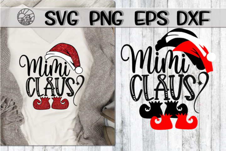 Mimi Claus - SVG PNG EPS DXF