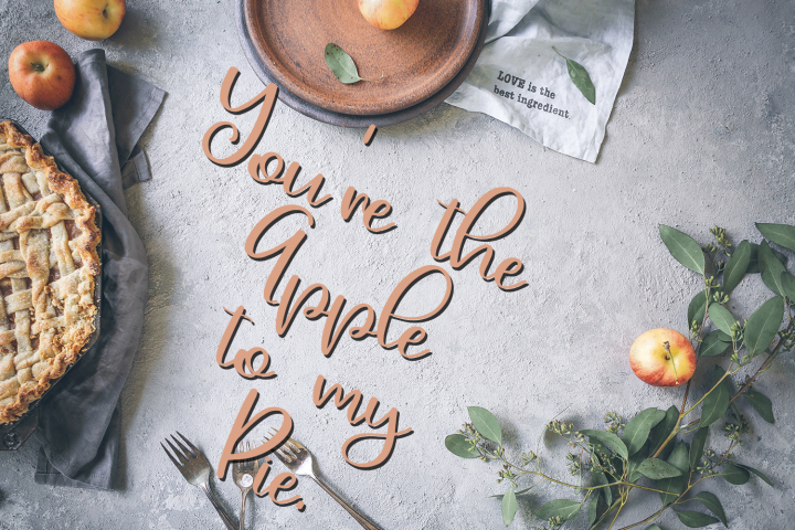 September Smile - A Hand-Written Calligraphy Font example image 3