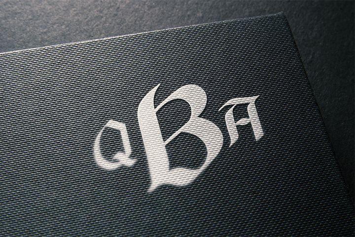 Black Monogram Creator  example image 5