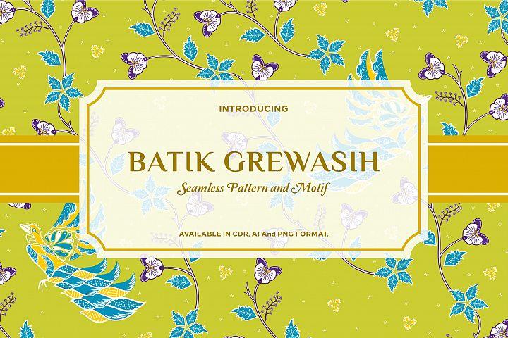 Grewasih - Batik Pattern