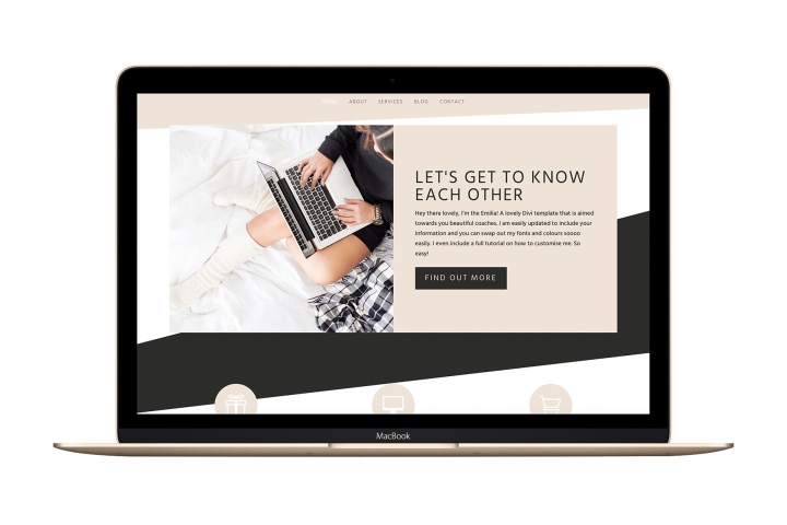The Emilia - Divi Child Wordpress Theme - Feminine & Chic