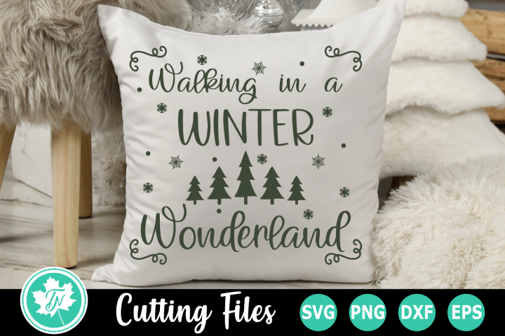 Winter Wonderland - A Christmas SVG Cut File