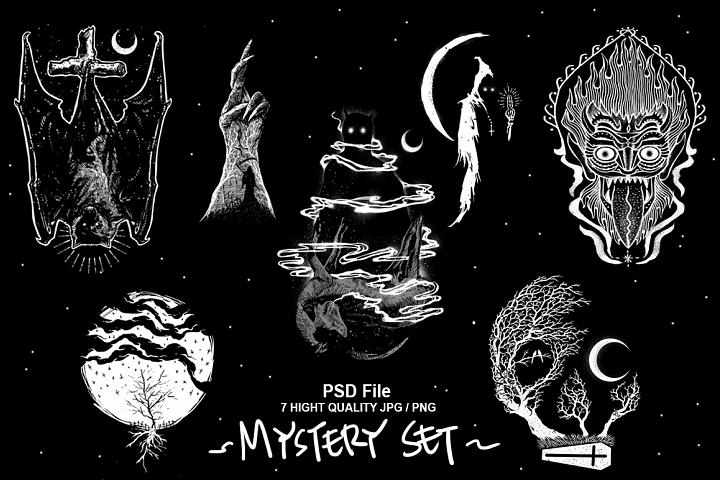 7 Mystery Designs
