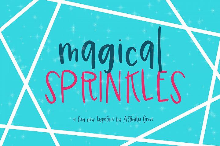 Magical Sprinkles Font