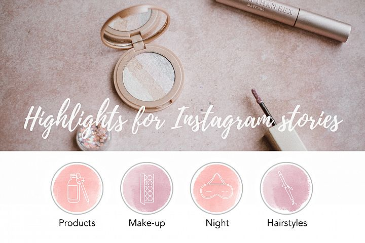 Beauty Instagram Stories Highlights