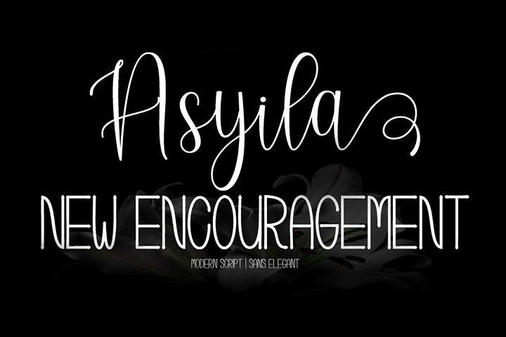 Asyila Font Duo