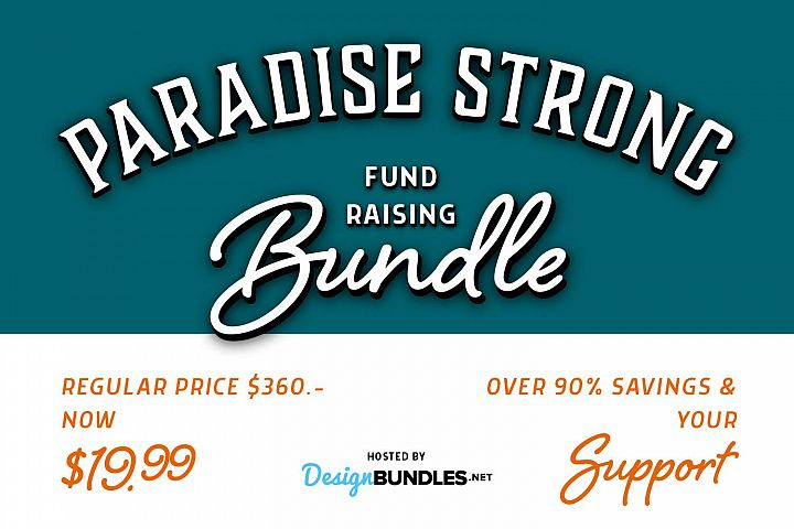 Paradise Strong Fundraising Bundle