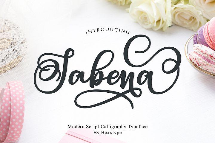 Sabena Script | Sweet Font