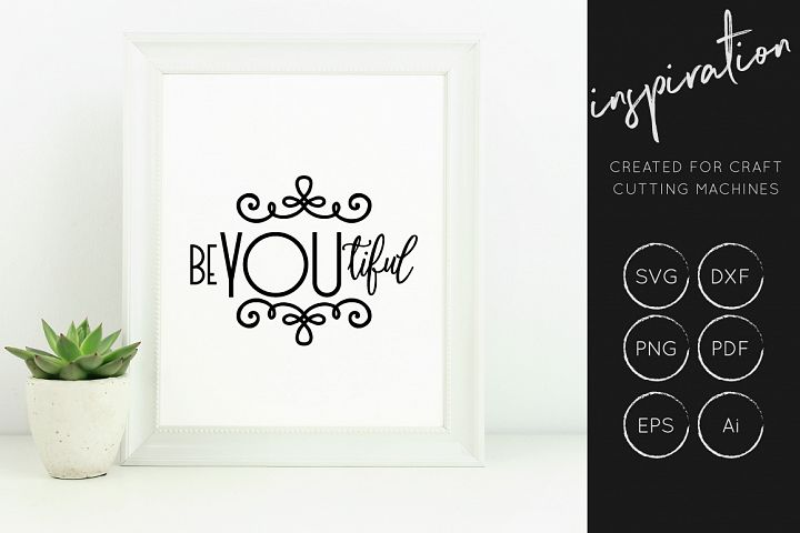 Inspirational Quotes SVG Cut File Bundle - Design Collection - Free Design of The Week Design 5
