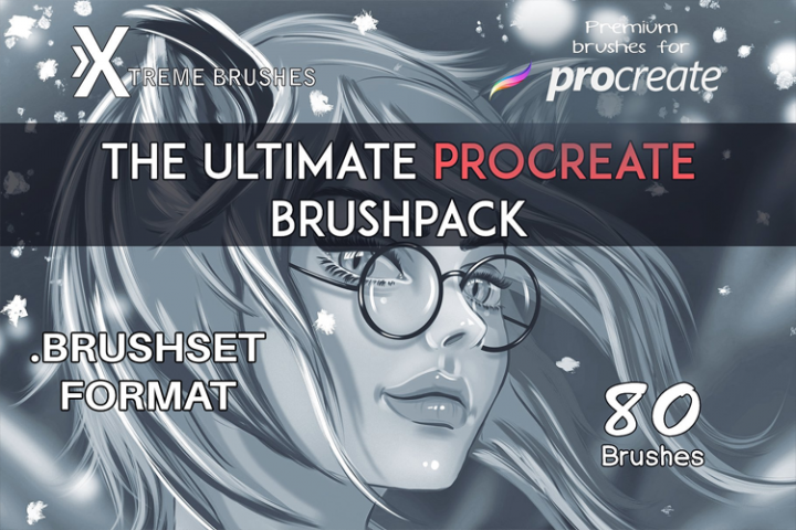 The Ultimate Procreate Brushpack!
