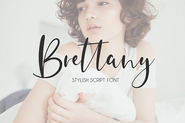 Brettany Script Font