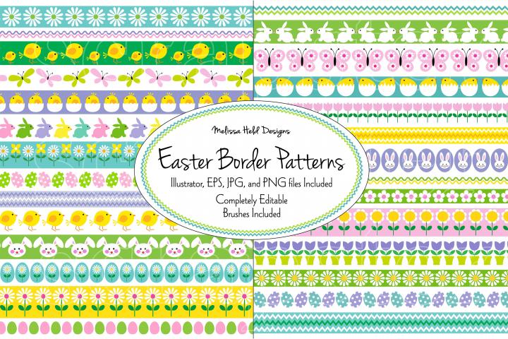 Easter Border Patterns