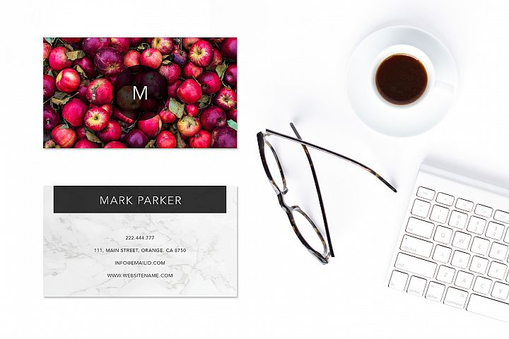 Modern Pattern Texture Beautiful Professional Art Business Card