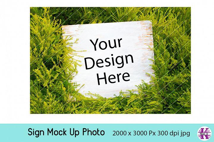 Sign Mock UP Photo jpg