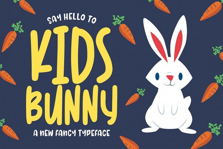 Kidsbunny    Display & Playful Font
