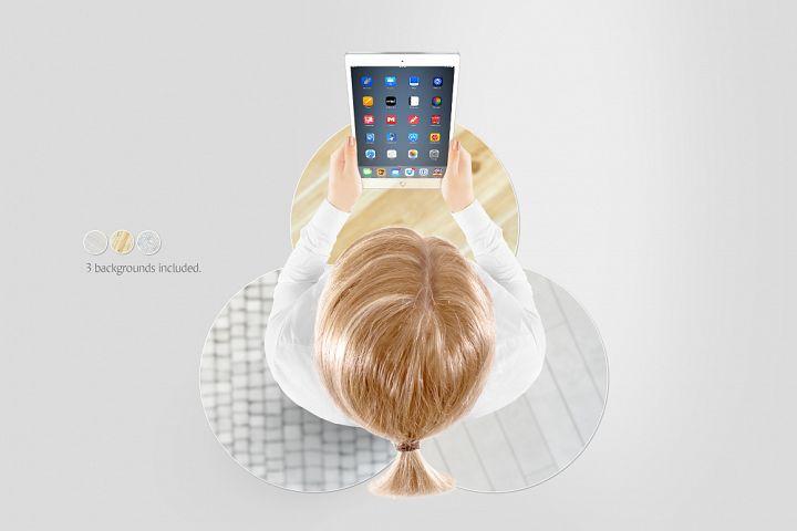 Tablet Mockup - Free Design of The Week Design 4