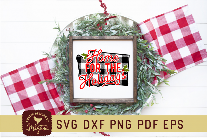 Washington Buffalo Plaid State SVG mini bundle
